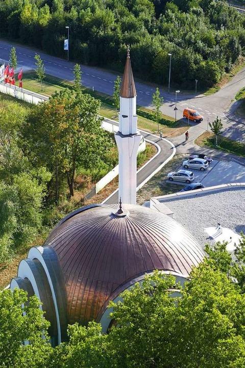 Ein Hingucker: die Moschee    Foto: Mark Alexander