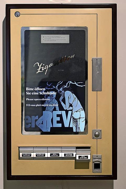 Werbung statt Zigaretten    Foto: ycb