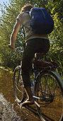 Stets orientiert auf dem Fahrradsattel
