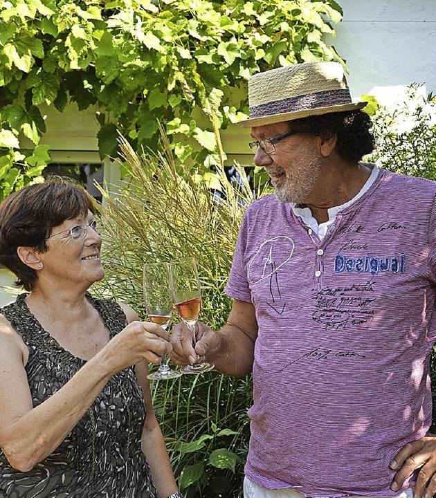 Ann Däschle und Lothar Hanser freuen sich schon auf das Schneckenfest.  | Foto: Sophia Hesser