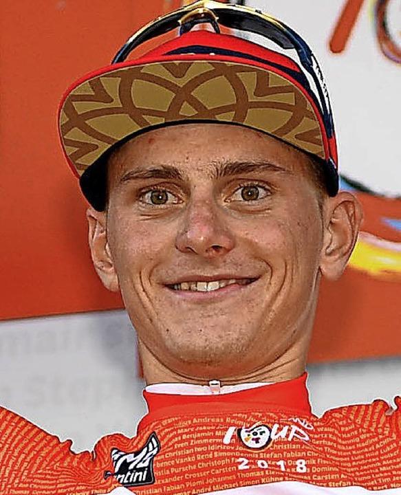 Glücklicher Gesamtsieger: Matej Mohoric   | Foto: dpa
