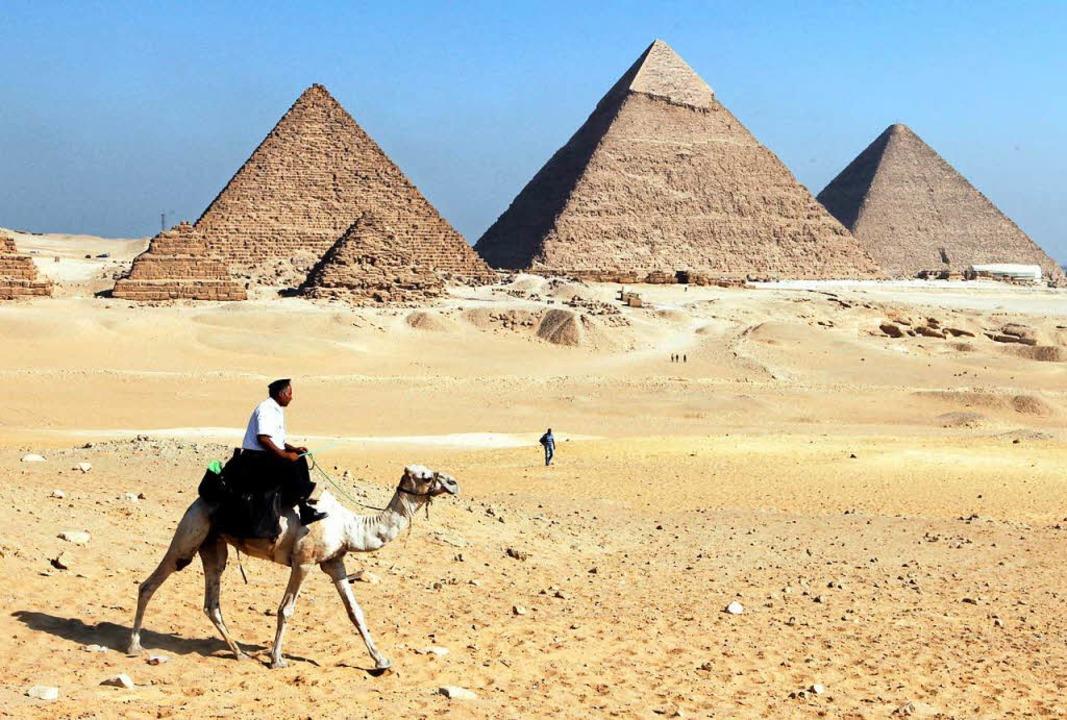 Die Pyramiden von Gizeh.  | Foto: dpa