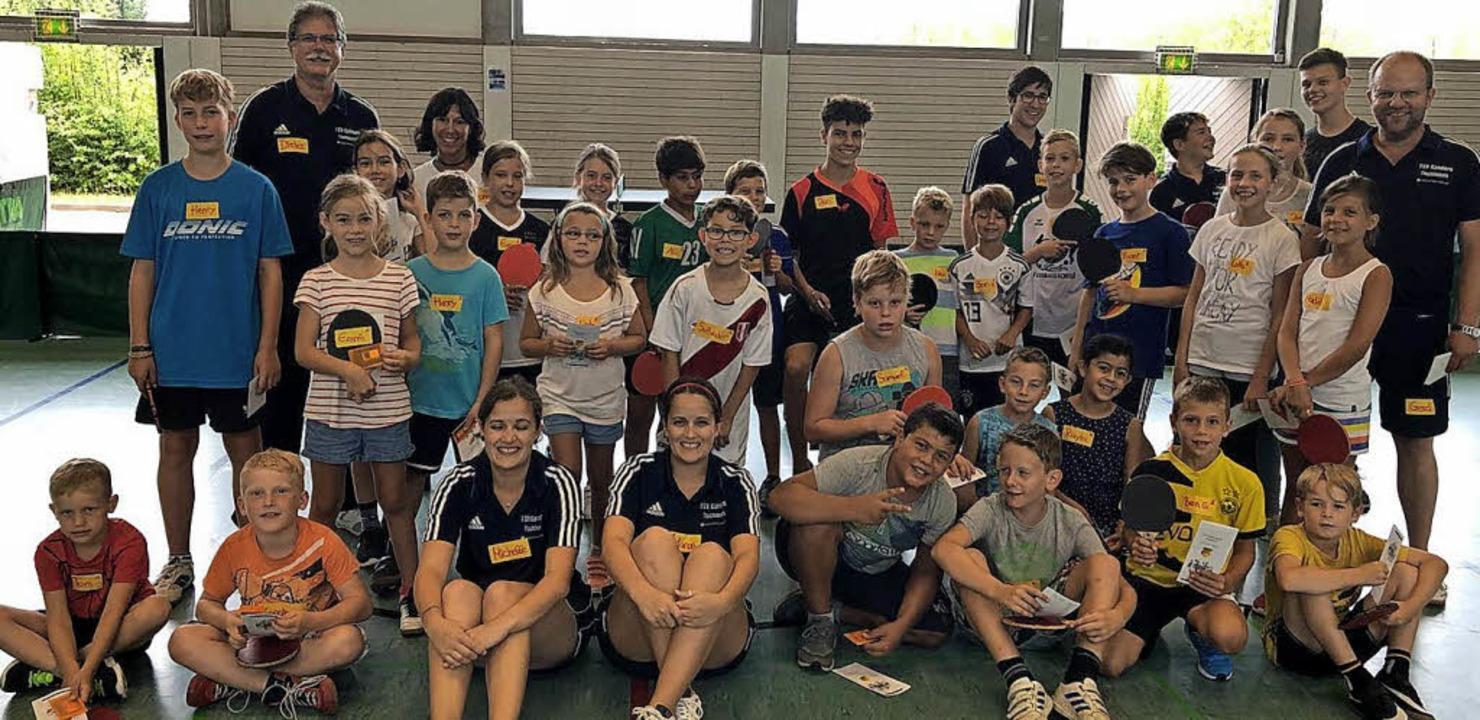 <BZ-FotoAnlauf>Neue Tischtennisfreunde...toAnlauf> fand die Abteilung des TSVK.  | Foto: privat
