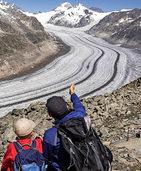Hitzesommer setzte den Gletschern zu