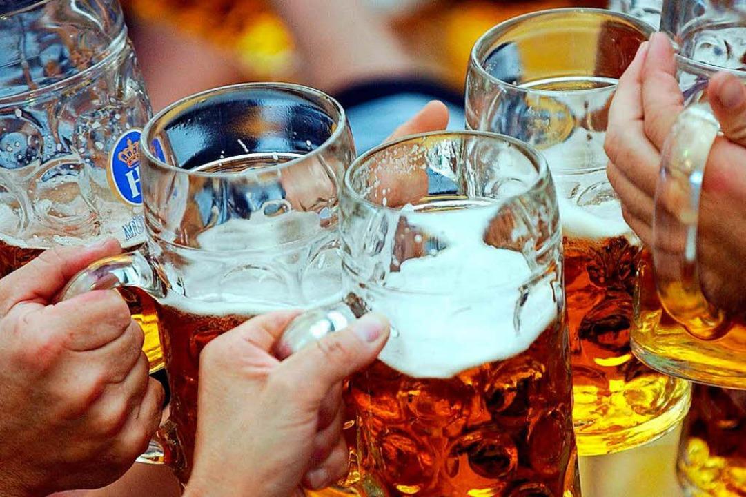 Ohne Bier ist ein Oktoberfest undenkbar.  | Foto: A2585 Frank Leonhardt