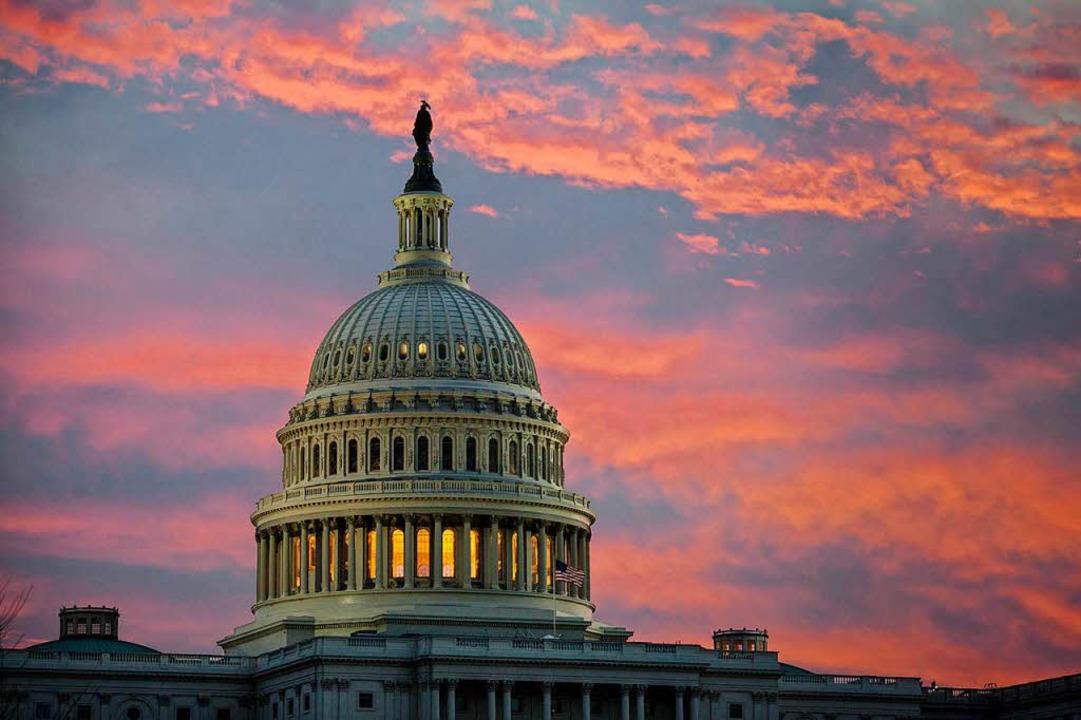 Das Kapitol in Washington. Hier finden Sitzungen des Senats statt.  | Foto: dpa