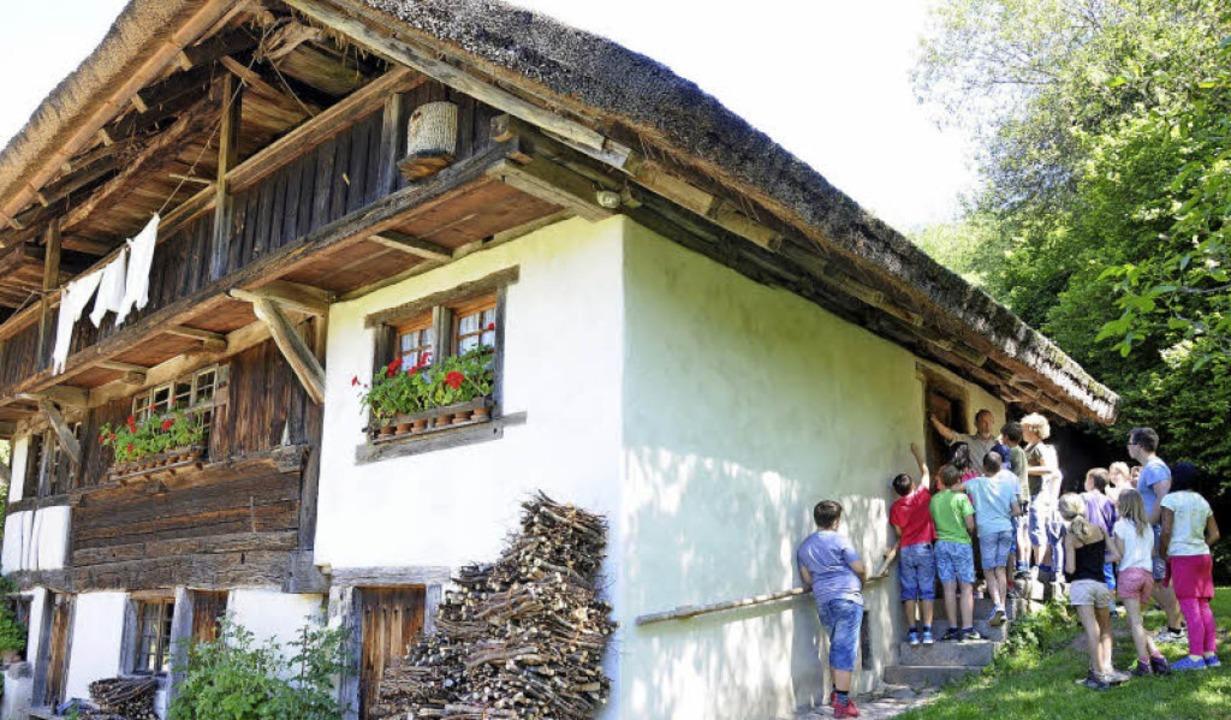 Der Schneiderhof in Kirchhausen wird d... Bauernhausmuseum wunderbar geeignet.   | Foto: Bergmann