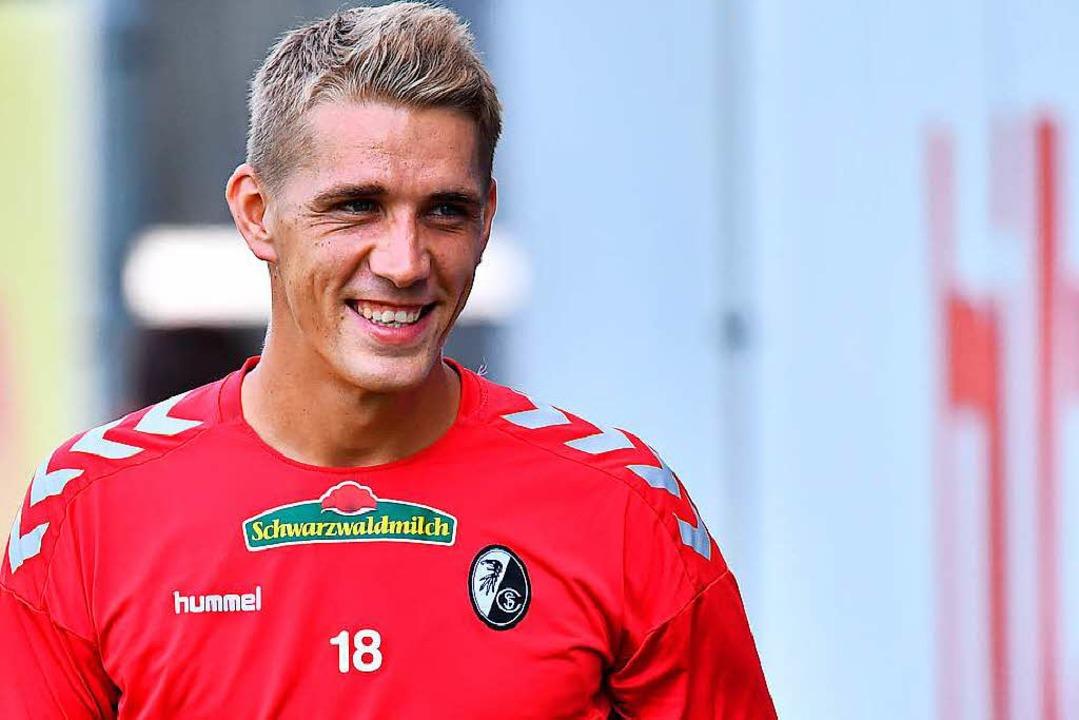 Nils Petersen wird wohl wieder für Deutschland auflaufen.  | Foto: Achim Keller