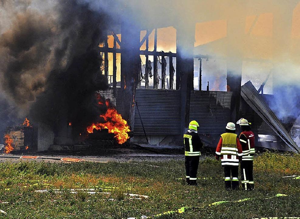 Das Feuer war am Montag vergangener Woche ausgebrochen.  | Foto: Nicolai Kapitz