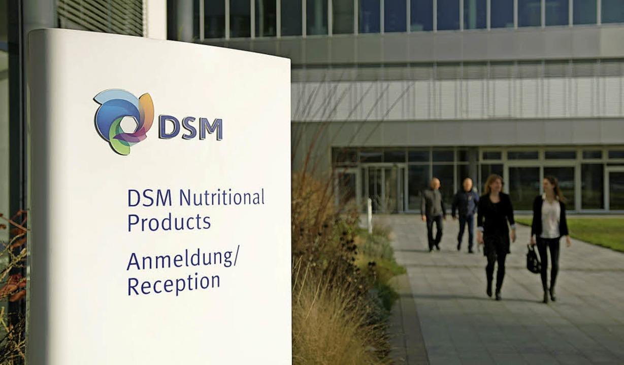 Das Hauptquartier der Nutrition-Sparte in Kaiseraugst.     Foto: DSM