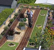 Garten statt Wellblechdach