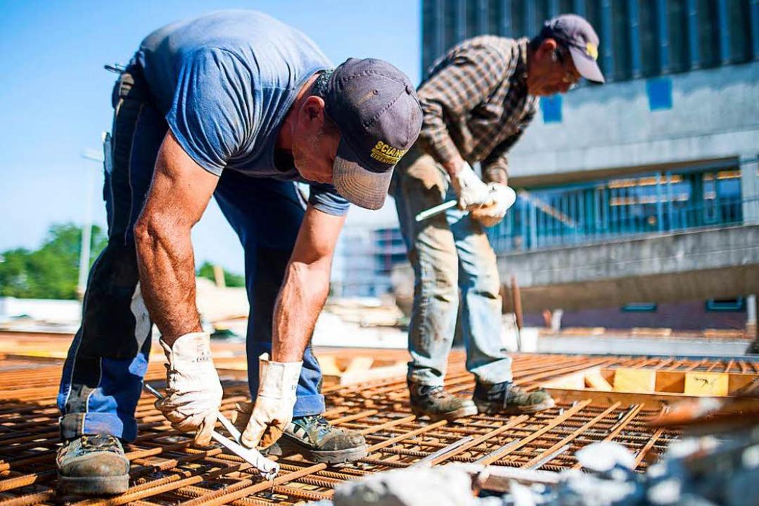 Das Land spürt Engpässe in der Baubranche  | Foto: dpa