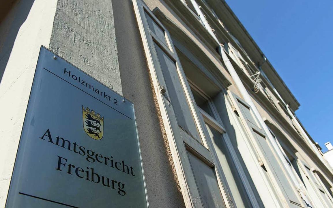 Die beiden Fälle wurden vom Amtsgericht Freiburg entschieden.  | Foto: dpa