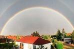 Leserfotos: Spektakulärer Doppel-Regenbogen über Südbaden