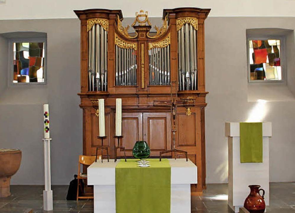 Michaelskirche Kaltenbach:   Der Blick...e gelungene Sanierung der alten Kirche  | Foto: Rolf-Dieter Kanmacher