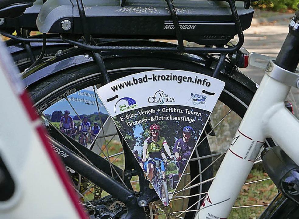 Soll noch deutlich wachsen: Der E-Bike-Tourismus in der Kurstadt Bad Krozingen  | Foto: Hans-Peter Müller
