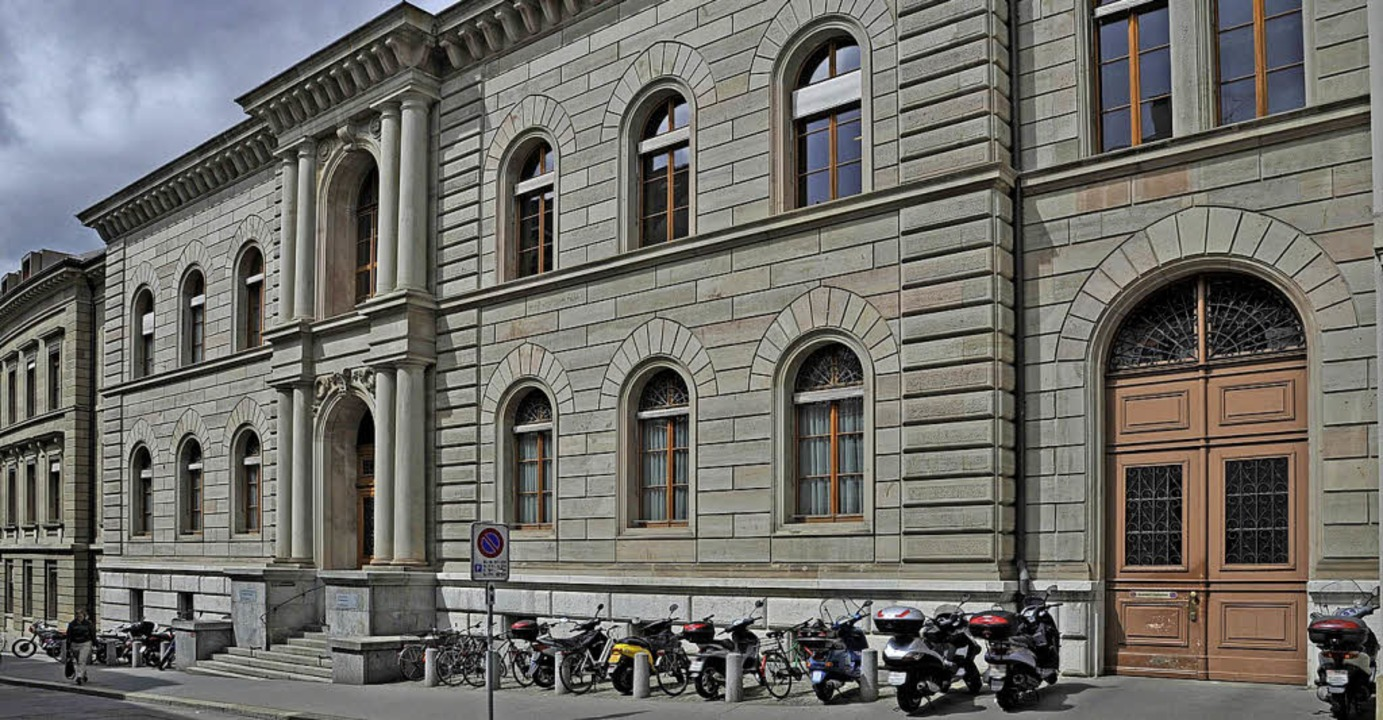 Das Gerichtsgebäude an der Bäumleingasse   | Foto: Juri Weiss