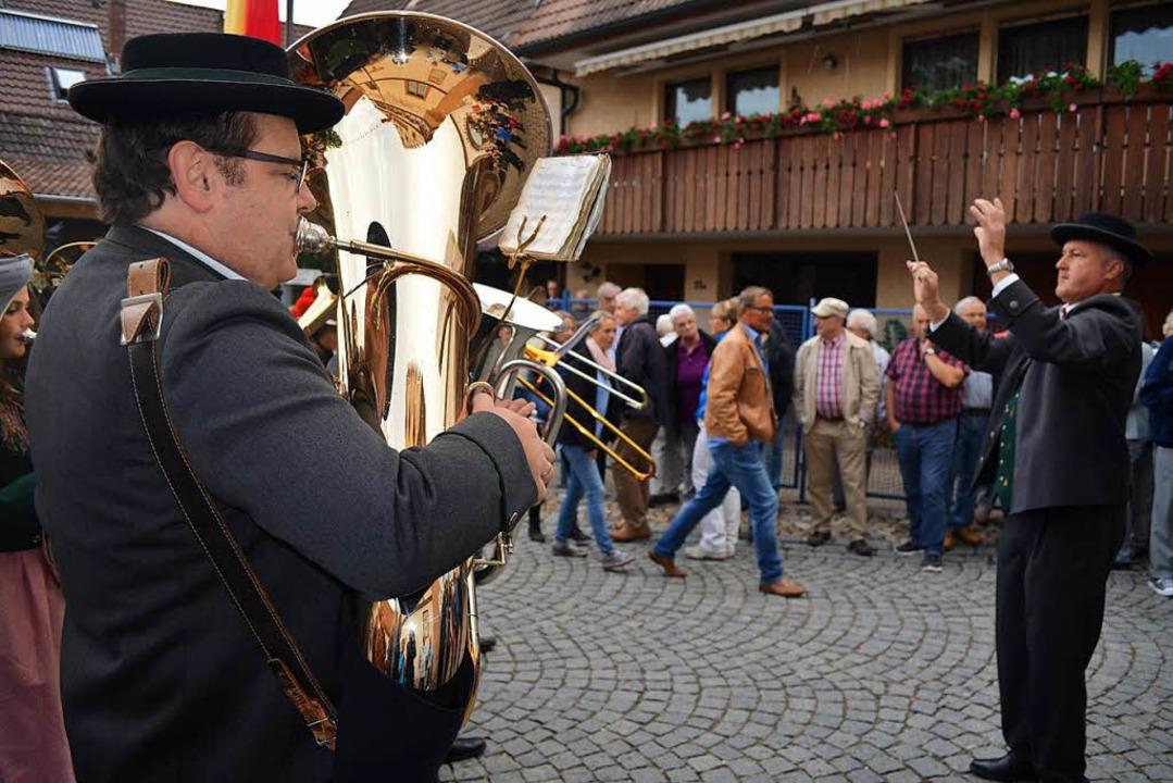 Musik gehört zum Schneckenfest dazu.  | Foto: Nikola Vogt