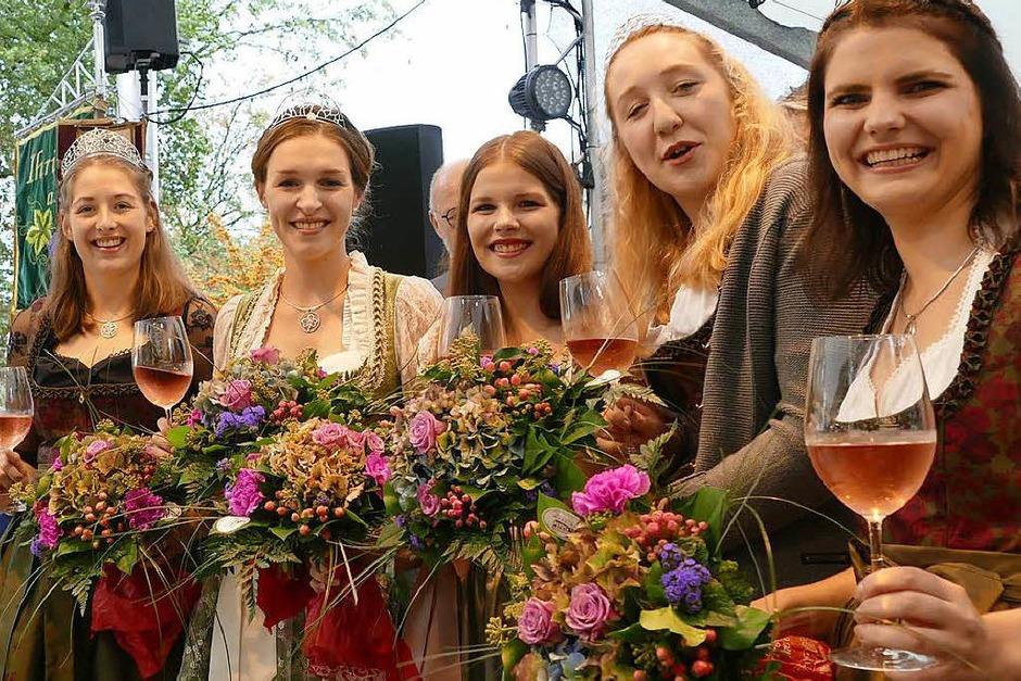 Impressionen von der Eröffnung des Breisacher Weinfestes (Foto: Gerold Zink)