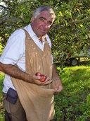 BEI DER ERNTE MIT...: Herr über 550 Obst- und Beerensorten