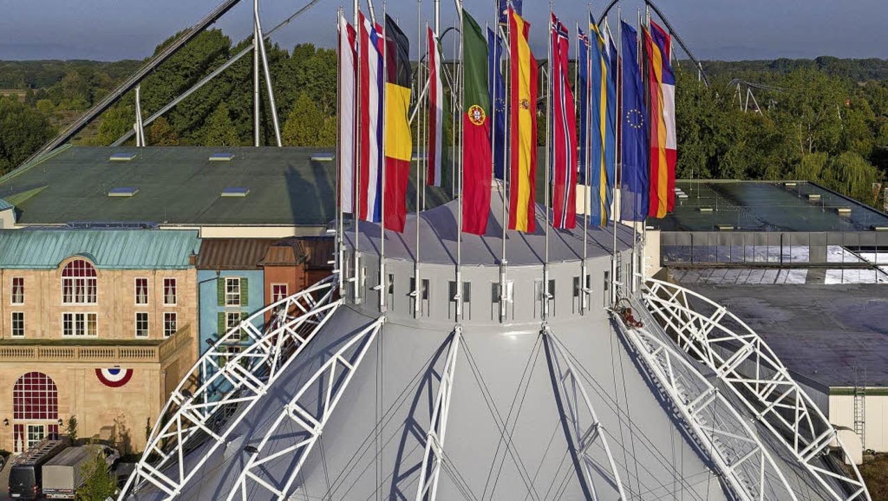 Der Europa-Park Dome erstrahlt in neuem Glanz.  | Foto: Europa-Park