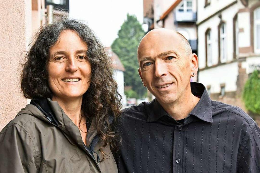 Sarah Metzger und Ralf Schmidt gehören zum Verein.  | Foto: Michael Bamberger