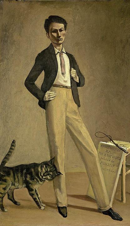 Balthus, Le Roi des chats, 1935    Foto:  Etienne Malapert, Musée cantonal des Beaux-Arts de Lausanne