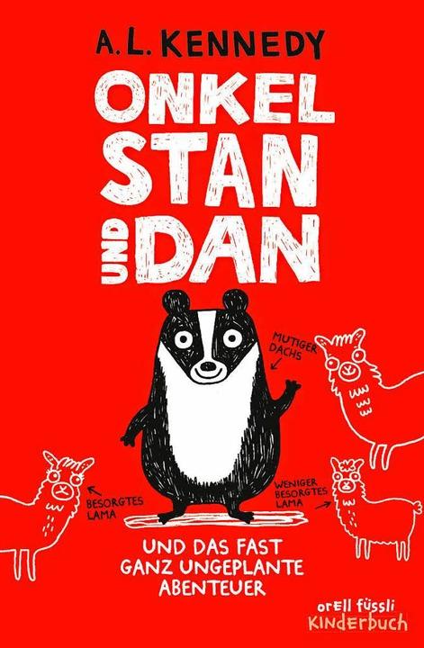 Onkel Stan und Dan und das fast ganz ungeplante Abenteuer.  | Foto: -