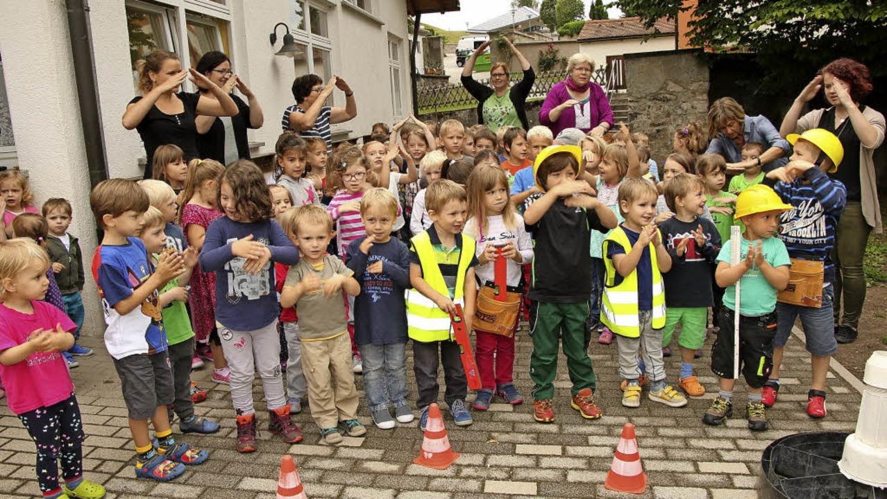 Seit 1. September bietet der Kindergar...afenhausen eine Ganztagsbetreuung an.   | Foto: wd