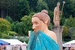 Fotos: Holzbildhauersymposium wieder mit spektakulärem Finale