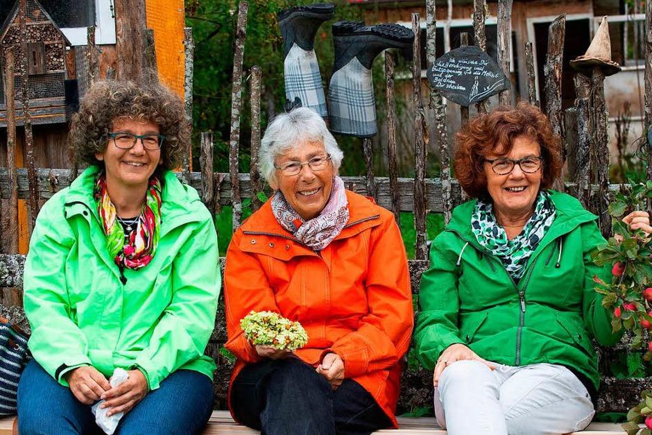 """Inspiration pur in Floras Garten in Holzschlag: Besucher aus dem ganzen Hochschwarzwald folgten der Einladung von """"Nettes auf dem Land"""", die Schätze des Sommers zu entdecken. (Foto: Wolfgang Scheu)"""