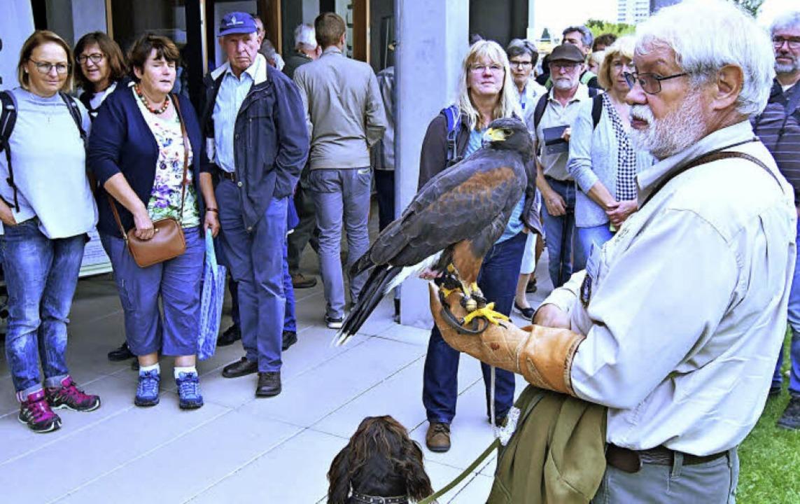 Wie geht eine Beizjagd, also die Jagd ...enschau Informationen aus erster Hand.  | Foto: Wolfgang Künstle