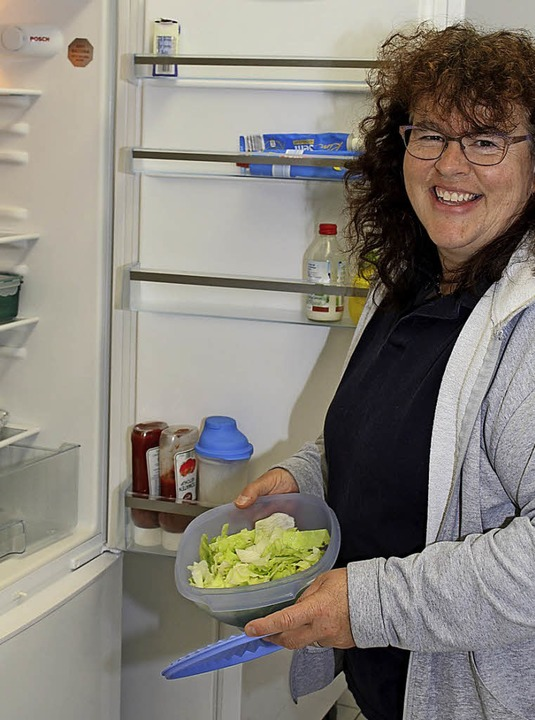 Hauswirtschafterin Karin Vögelin ist nun im Kinderhaus Kunterbunt tätig.   | Foto: GERT BRICHTA