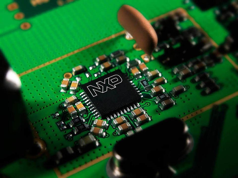 Fortschritte in der Elektronik sind ei...tende Digitalisierung der Wirtschaft.   | Foto: DPA