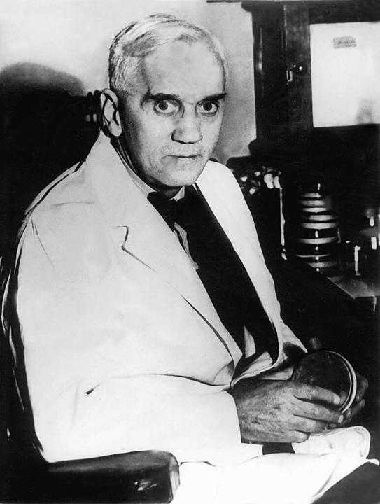 Alexander Flemming hat vor 90 Jahren den Wirkstoff Penicillin entdeckt.  | Foto: dpa