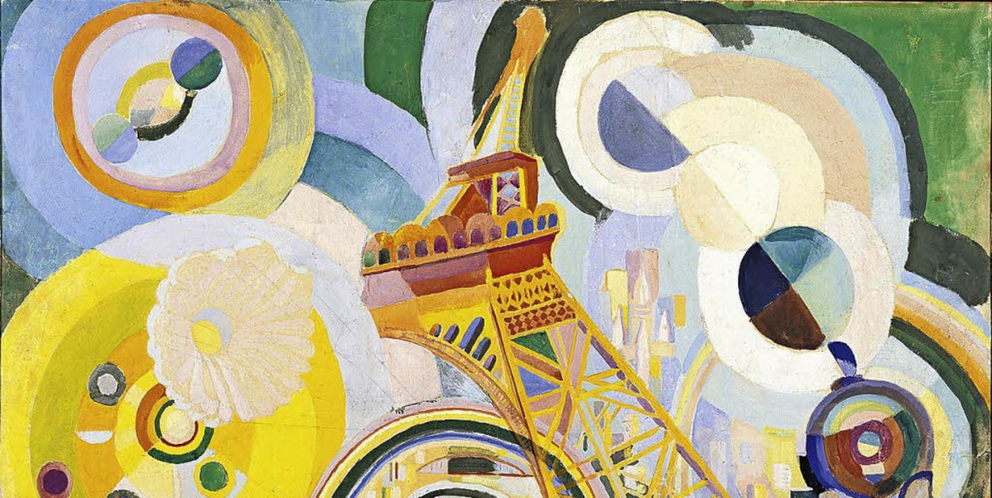 "Delaunay: ""Air, fer, eau"". Gouache, Albertina Wien  | Foto: Museum"