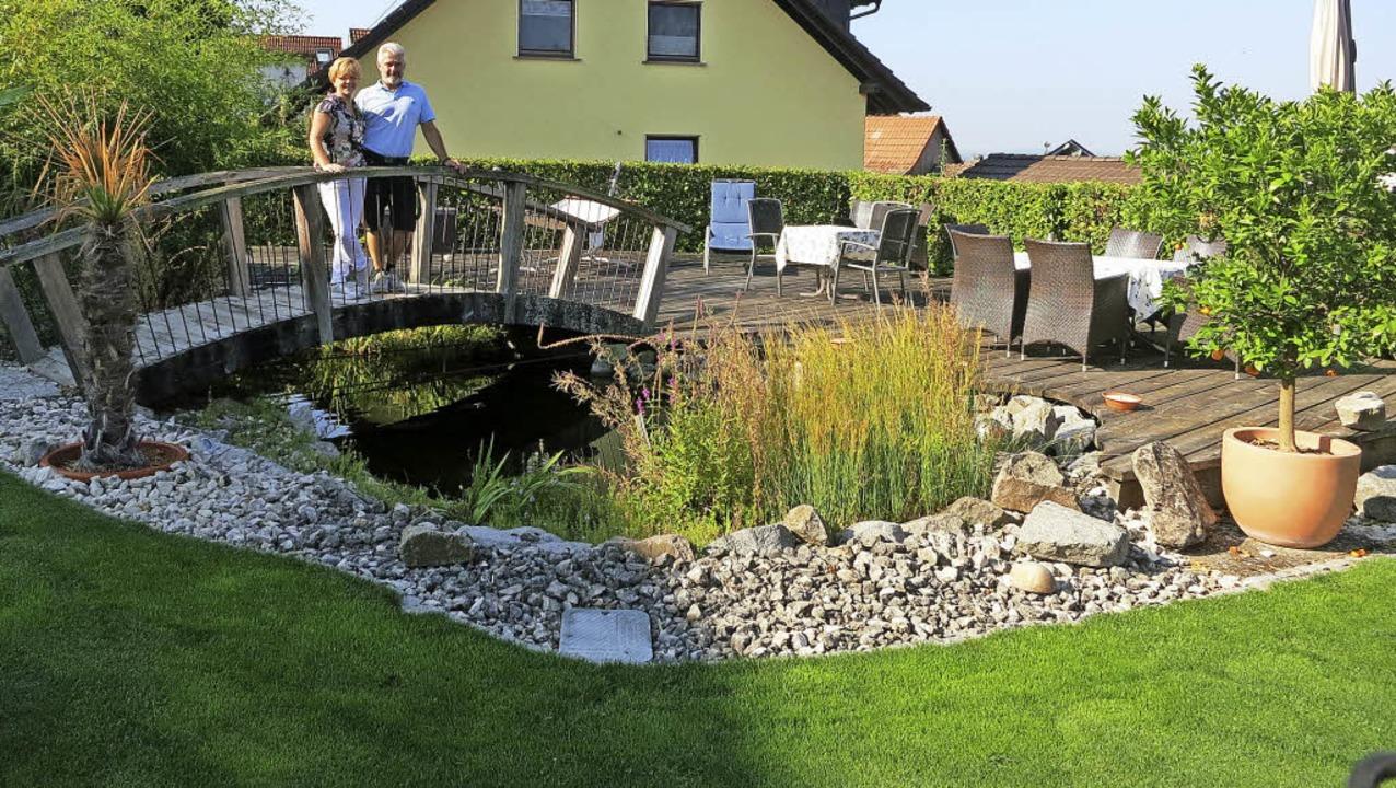 Serie der besondere Garten:  Gästehaus Panorama Bad Bellingen-Bamlach  | Foto: Michael Behrendt