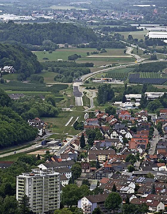 Westlich von Oberkirch wird die B28 saniert.   | Foto: Stadt Oberkirch