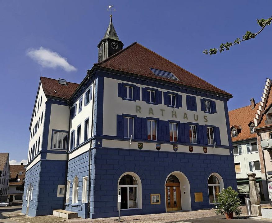 Das neu sanierte Rathaus kann am Sonnt...ag der offenen Tür besichtigt werden.   | Foto: Martin Wunderle