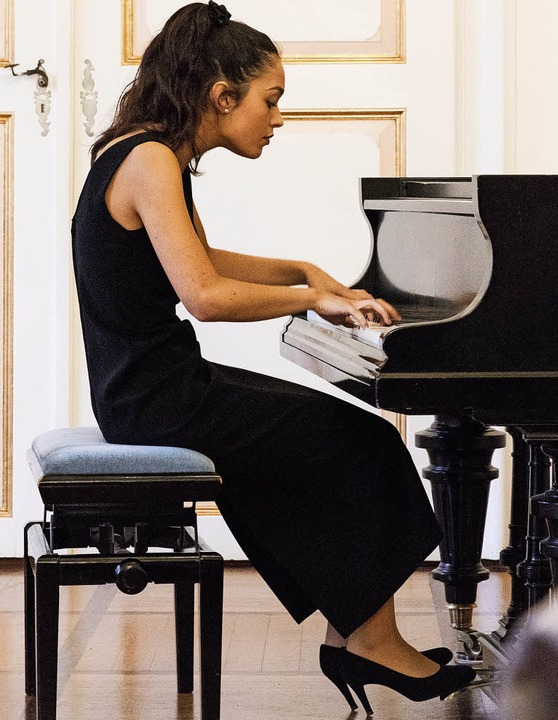 Emma Stratton  beim Abschlusskonzert des Peter-Feuchtwanger-Meisterkurses   | Foto: Gabriele Zahn