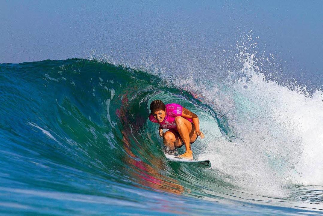Die sechsfache Surf-Weltmeisterin Stephanie Gilmore  | Foto: Daniel Smorigo - Asp Intl