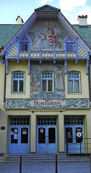 Verschnörkelt: Kulturhaus in Skalica von Jurkovic  | Foto: Franz Lerchenmüller