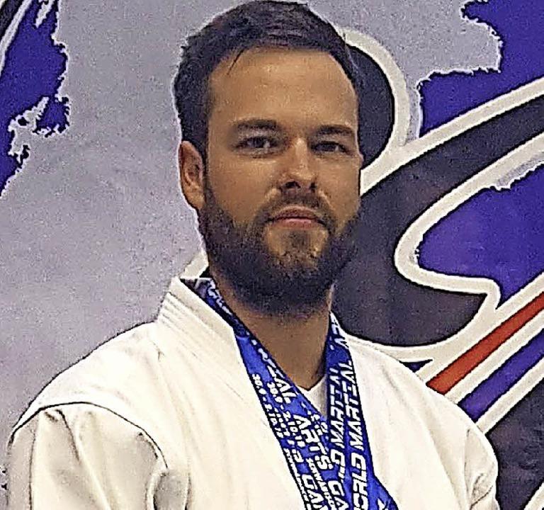 Weltmeister: Karateka Axel Heinrich  | Foto: PrivaT