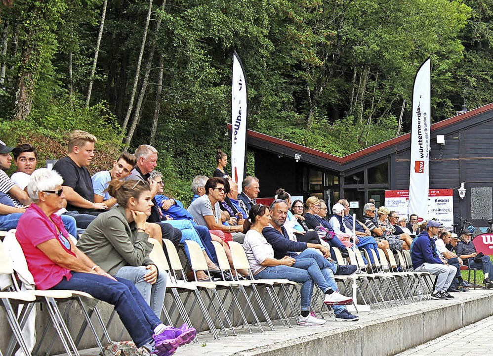 Durchaus auf einiges Zuschauerinteress... Sauvant – der Badenweiler Open.  | Foto: Hannes Selz