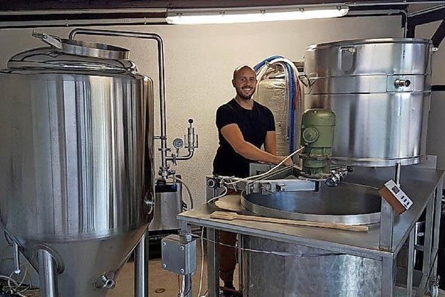 Wo früher Milch gesammelt wurde, reift künftig Bier in den Tanks