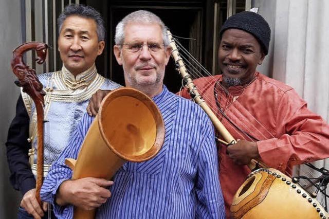 Das Trio aus drei Kontinenten