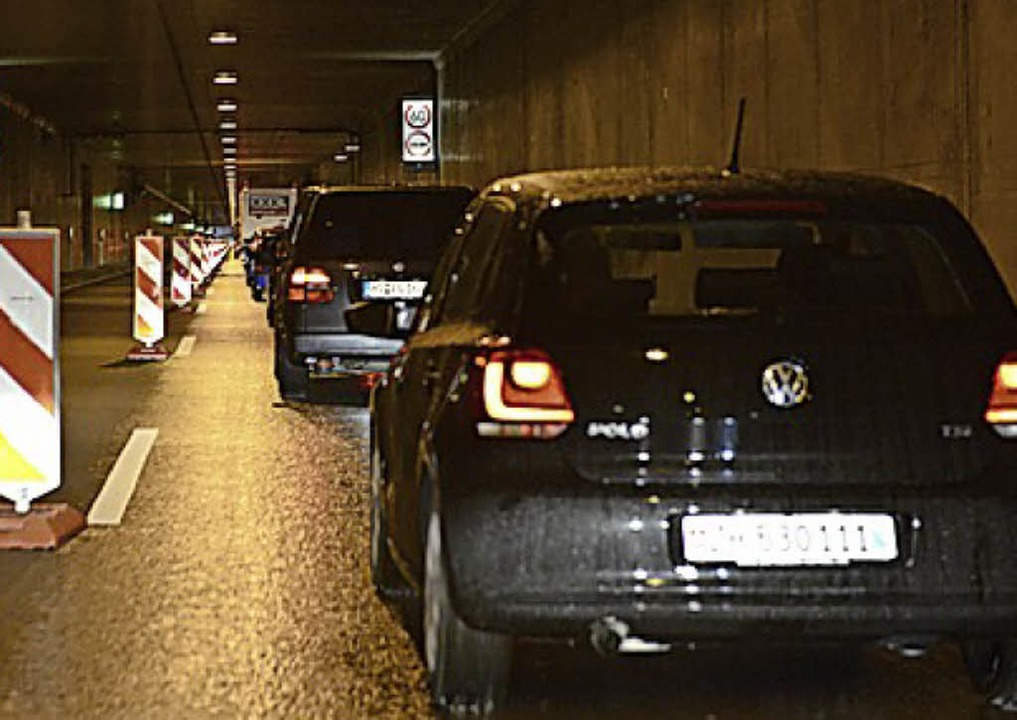 Stillstand im Tunnel ist unangenehm.   | Foto: ingo schneider