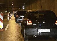 Kein Stau im Tunnel