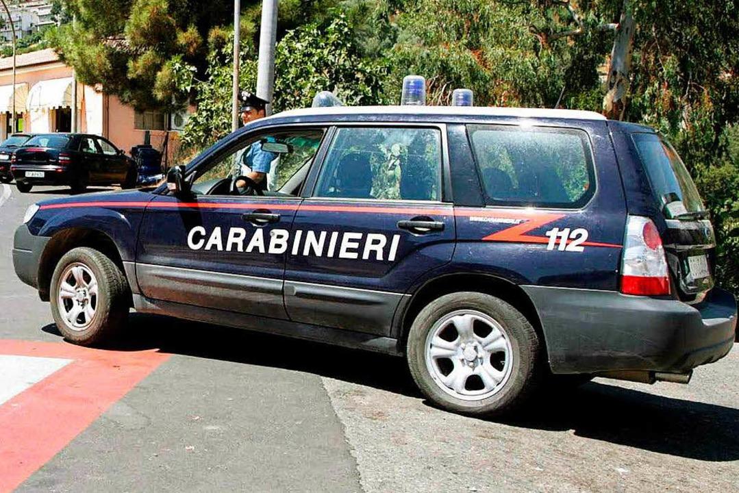 Zugriff in Italien  | Foto: dpa