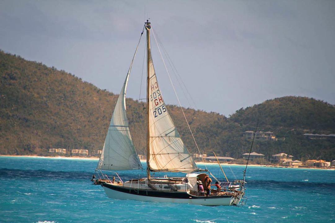 Klettergurt Für Mast : Zwei jahre segeln auf dem atlantik: diese lahrer familie hats
